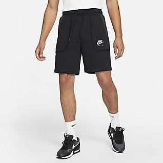 Nike Air Calções em tecido moletão para homem