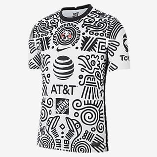 Club América alternativo 2020/21 Stadium Jersey de fútbol para hombre