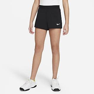 NikeCourt Dri-FIT Victory Calções de ténis Júnior (Rapariga)
