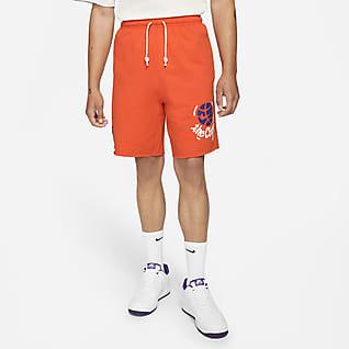 "Nike Standard Issue ""West 4th"" Men's Basketball Fleece Shorts"