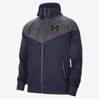 Nike College (Michigan) Windrunner para hombre