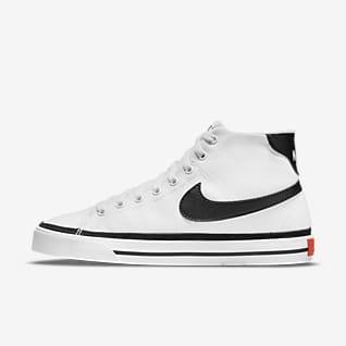 Nike Court Legacy Canvas 中筒 女鞋