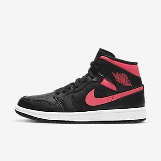 Air Jordan 1 Mid Sko til kvinder