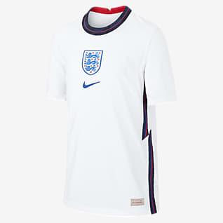 Домашняя форма сборной Англии 2020 Vapor Match Футбольное джерси для школьников