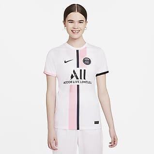 Paris Saint-Germain 2021/22 Stadium (bortaställ) Fotbollströja Nike Dri-FIT för kvinnor