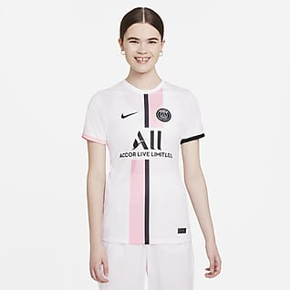 Paris Saint-Germain visitante 2021/22 Stadium Jersey de fútbol Nike Dri-FIT - Mujer