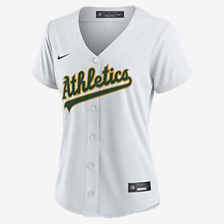 MLB Oakland Athletics (Khris Davis) Women's Replica Baseball Jersey