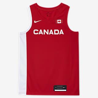 Canada Nike (Road) Limited Basketbaljersey voor heren