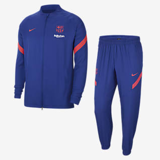 F.C. Barcelona Strike Men's Woven Football Tracksuit