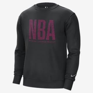 Team 31 Essential Men's Nike NBA Fleece Crew Sweatshirt