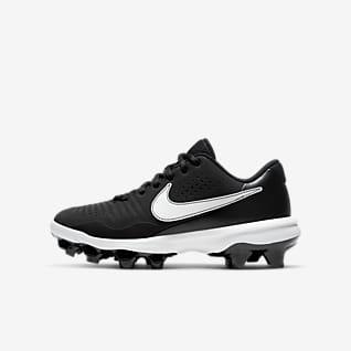 Nike Alpha Huarache 3 Varsity Low MCS Big Kids' Baseball Cleat