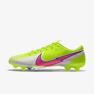 Nike Mercurial Vapor 13 Academy By You Egyedi futballcipő normál talajra
