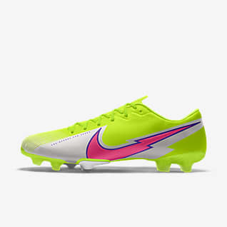 Nike Mercurial Vapor 13 Academy By You รองเท้าสตั๊ดฟุตบอลสำหรับพื้นสนามทั่วไปออกแบบเอง