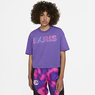 Paris Saint-Germain Kortärmad tröja för kvinnor
