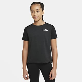 Nike Big Kids' (Girls') Short-Sleeve Softball Top