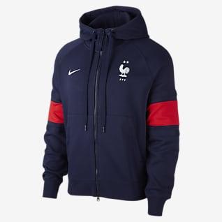 FFF Men's Full-Zip Fleece Hoodie