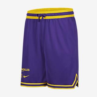 洛杉矶湖人队 Courtside Nike NBA 男子短裤