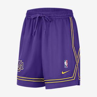Los Angeles Lakers Courtside Short Nike NBA pour Femme