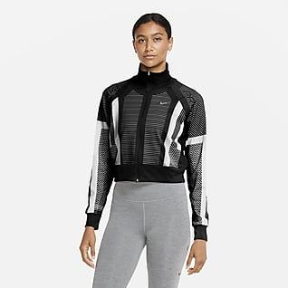 Nike Pro Women's Knit Full-Zip Top