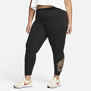 Nike Sportswear Damen-Leggings mit halbhohem Bund (große Größe)