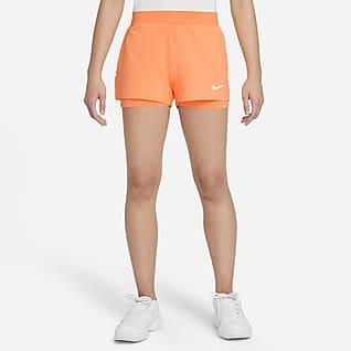NikeCourt Dri-FIT Victory Tennisshorts voor meisjes