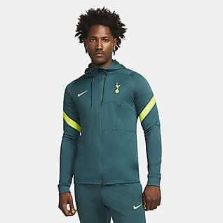 Tottenham Hotspur Strike Stickad fotbollsträningsjacka Nike Dri-FIT för män