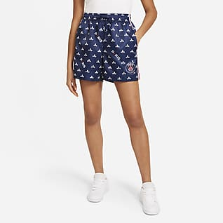Paris Saint-Germain Damenshorts mit Print