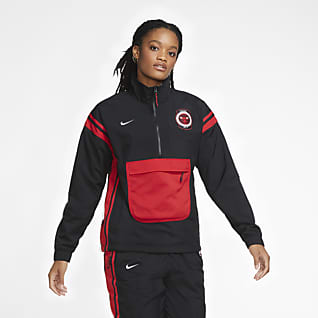 Bulls Courtside Women's Nike NBA Tracksuit Jacket