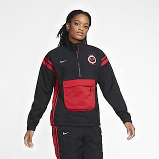 Bulls Courtside Chamarra de conjunto de entrenamiento Nike NBA para mujer