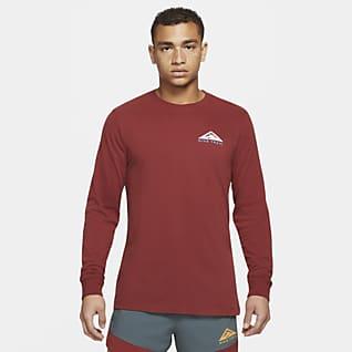 Nike Dri-FIT Long-Sleeve Trail Running T-Shirt