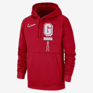 Nike College Therma Local (Georgia) Men's Pullover Hoodie