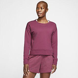 Nike Yoga Γυναικεία μακρυμάνικη μπλούζα