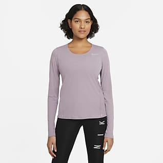 Nike Haut de running à manches longues pour Femme