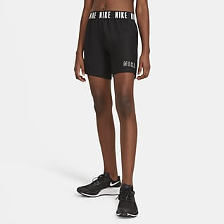 "Nike Dri-FIT Trophy Big Kids' (Girls') 6"" Training Shorts"