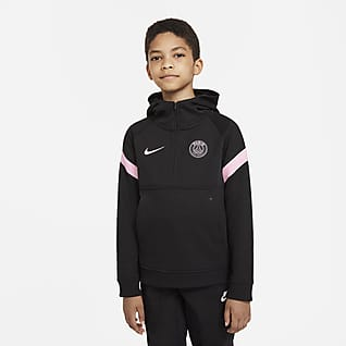 Paris Saint-Germain Hoodie de futebol Nike Dri-FIT Júnior
