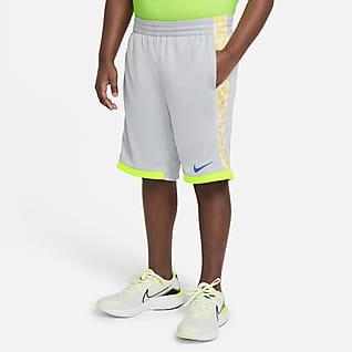 Nike Trophy Shorts estampados para niño talla grande