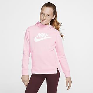 Nike Sportswear Sudadera con capucha sin cierre para niña