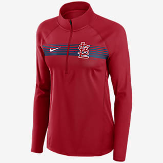 Nike Dri-FIT Element (MLB St. Louis Cardinals) Women's 1/2-Zip Pullover
