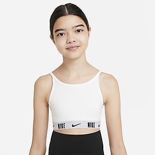 Nike Trophy Sujetador deportivo para niñas talla grande