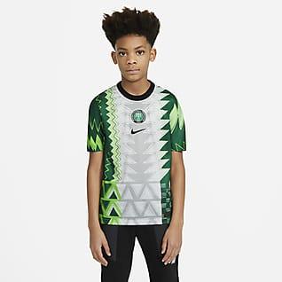 Nigeria Stadium 2020 (wersja domowa) Koszulka piłkarska dla dużych dzieci