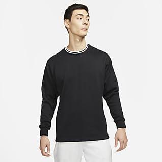 Nike Dri-FIT Golftröja med rund hals för män