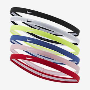 Nike Swoosh Cintas para el pelo para niños talla grande (paquete de 6)