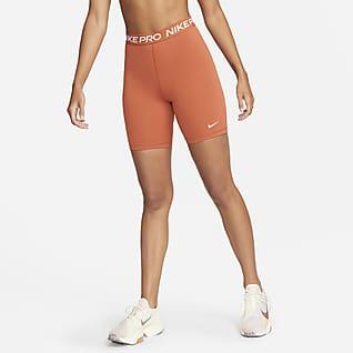 Nike Pro 365 Magas derekú, 18 cm-es női rövidnadrág