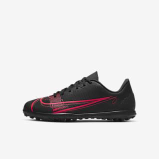 Nike Jr. Mercurial Vapor 14 Club TF Botas de fútbol para moqueta - Turf - Niño/a y niño/a pequeño/a