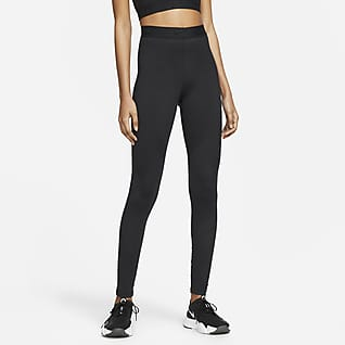 Nike x MMW Legginsy ze średnim stanem