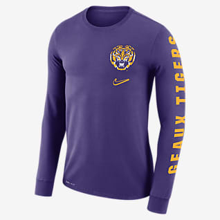 Nike College Dri-FIT Mantra (LSU) Men's Long-Sleeve T-Shirt