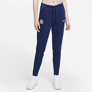 Chelsea FC Damskie spodnie piłkarskie z dzianiny