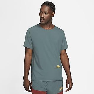 Nike Dri-FIT Rise 365 Kurzarm-Laufoberteil für Trails
