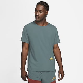 Nike Dri-FIT Rise 365 Løbeoverdel med korte ærmer