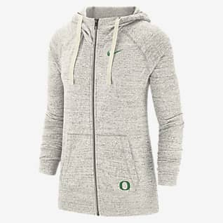 Nike College Gym Vintage (Oregon) Women's Full-Zip Hoodie